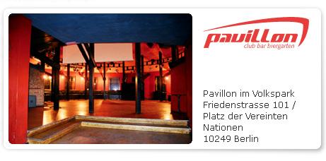 Pavillion im Volkspark
